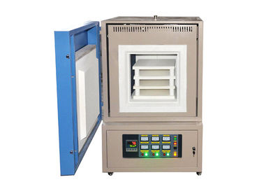 Good Quality Lab Muffle Furnace & Programmable Electric Muffle Furnace , 1400 ℃ Industrial Chamber Furnace on sale