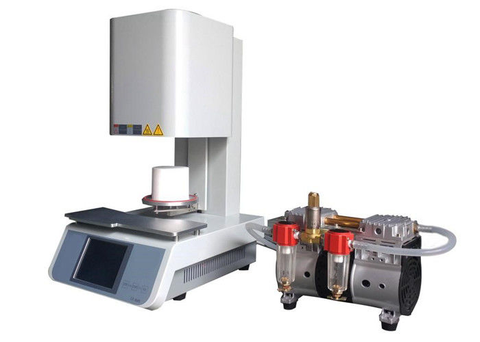 1200 ℃ Dental Lab Furnace , 100 * 80mm Dia Vacuum Porcelain Furnace / Oven