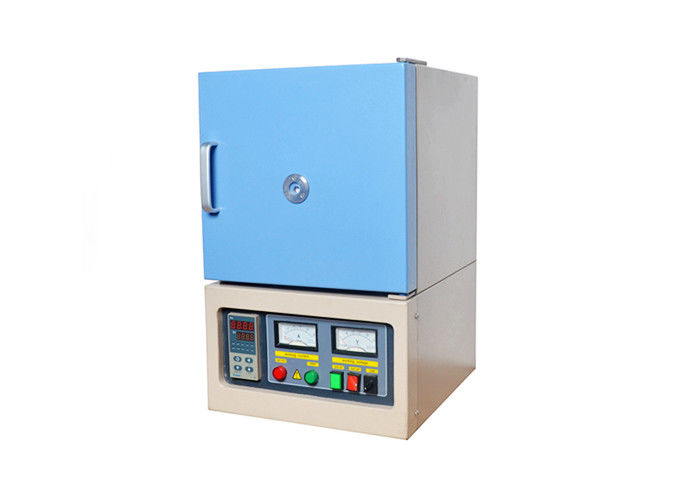 1200℃ Electric Lab Bench Top Muffle Furnace, Box Furnace Up to 8L