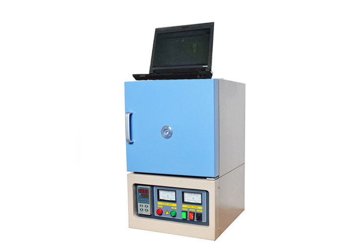 Double Layer Lab Muffle Furnace Box Shape 120 - 250mm Thickness Long Life