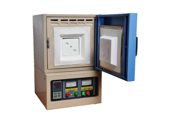 Manual Digital Muffle Furnace , Fire Brick Industrial Metal Melting Furnace