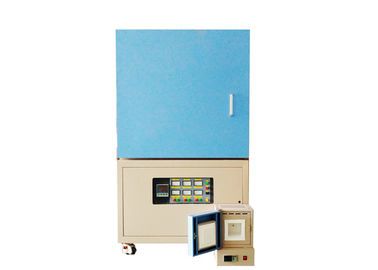 Ceramic Kilns Industrial Muffle Furnace Over Temperature Alarm CE Approval