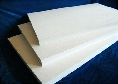High Temperature Ceramic Fiber Board , Smooth Surface Fireproof Fiber Board