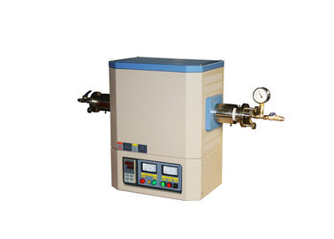 Materials Analyzing Lab Tubular Furnace 1600 Degree with Adjustable Flange Safety Protection